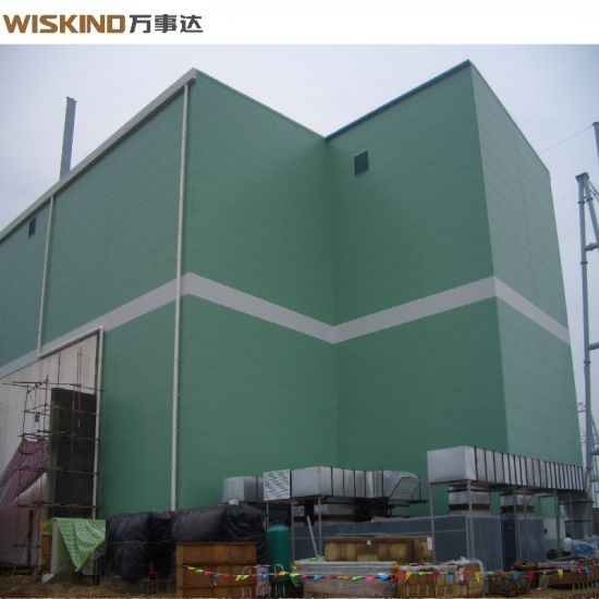 Q345b Steel Structure for Factory Residential House of Sound Proof