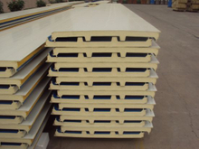Thermal/Insulation/Fireproof EPS/Rock Wool/PU/PIR/PUR Sandwich Panel for Outside and Inside Wall/Roof Panel