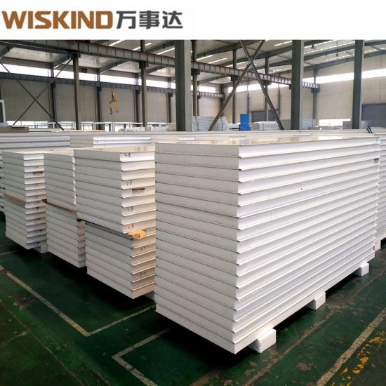 2018 Hot Selling EPS / Glass Wool / Rock Wool Sandwich Panel for Roof