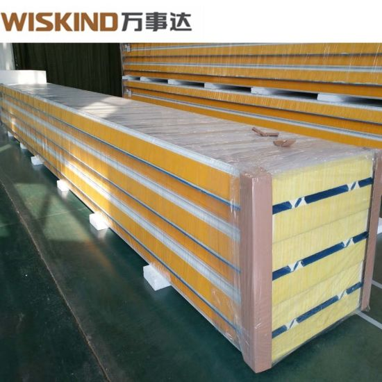 Polyurethane Sandwich Panel with Insulation Sound-Proof for H Beam Factory