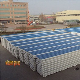 Corrugated Surface EPS Sandwich Panel China Cheap Price