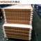 Corrugated PU Sealed Rock Wool Sandwich Panel with Fireproof Grade a