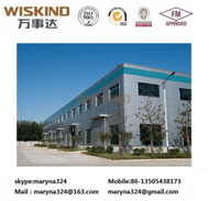 GB/ASTM/ISO Standard Building/Construction Material Clear Span Structure Factory for 3000 Sqm Prefabricated Structure Steel Building with Roof Panel