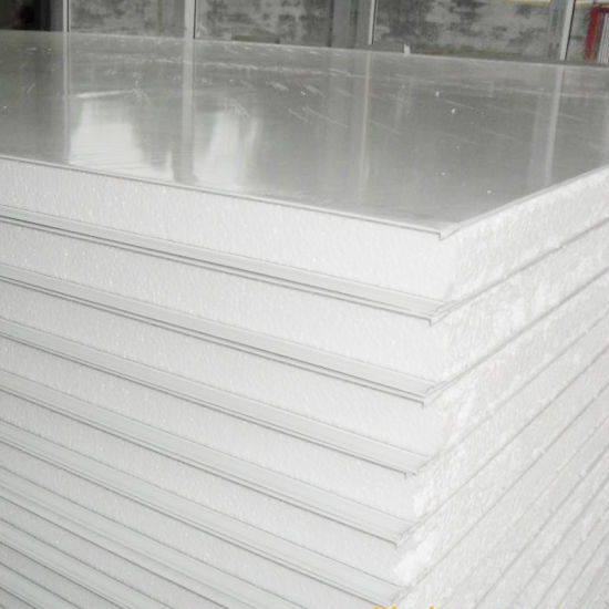 Exporting Light Weight Steel Polystyrene EPS/PU/PIR/Rockwool Sandwich Panels for Cold and Clean Room