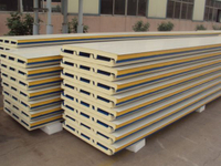Insulation Fireproof Rockwool Sandwich Panel for Building Outside Wall with ISO