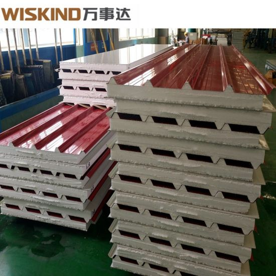High Insulation/easy Installation EPS Sandwich Panel with Better Quality for Steel Structure Building As Wall Or Roof Panel