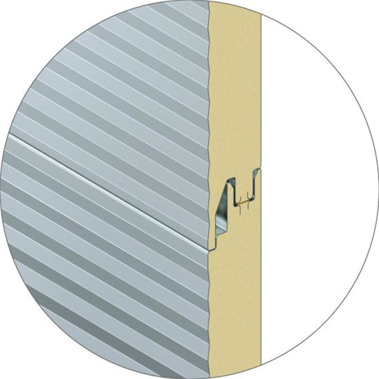 PU Sandwich Panel with Insulation Sound-Proof for H Beam ...