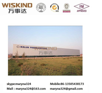 Building/Construction Material Clear Span Structural Beam Factory for 5000 Sqm Prefabricated Structure Steel Building with Roof Panel