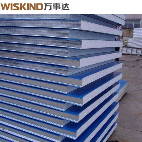 50mm / 75mm / 100mm / 120mm / 150mm EPS Sandwich Panel From China