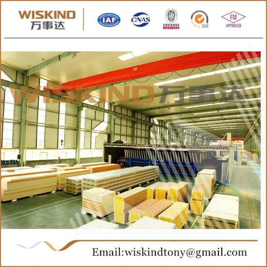 High-Quality Rock Wool Sandwich Panel for Steel Building