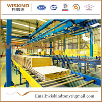 50mm/75mm/100mm Rock Wool Sandwich Panel Used House